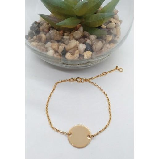 1/ Bracelet avec médaille